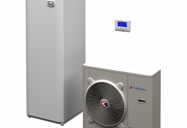 ChaffoteauxARIANEXT COMPACTΑντλια θερμοτητας  DC inverter + ενσωματωμενη υδραυλικη κολωνα ολα- σε- ενα με δοχειο αποθηκευσης 180 λιτρα